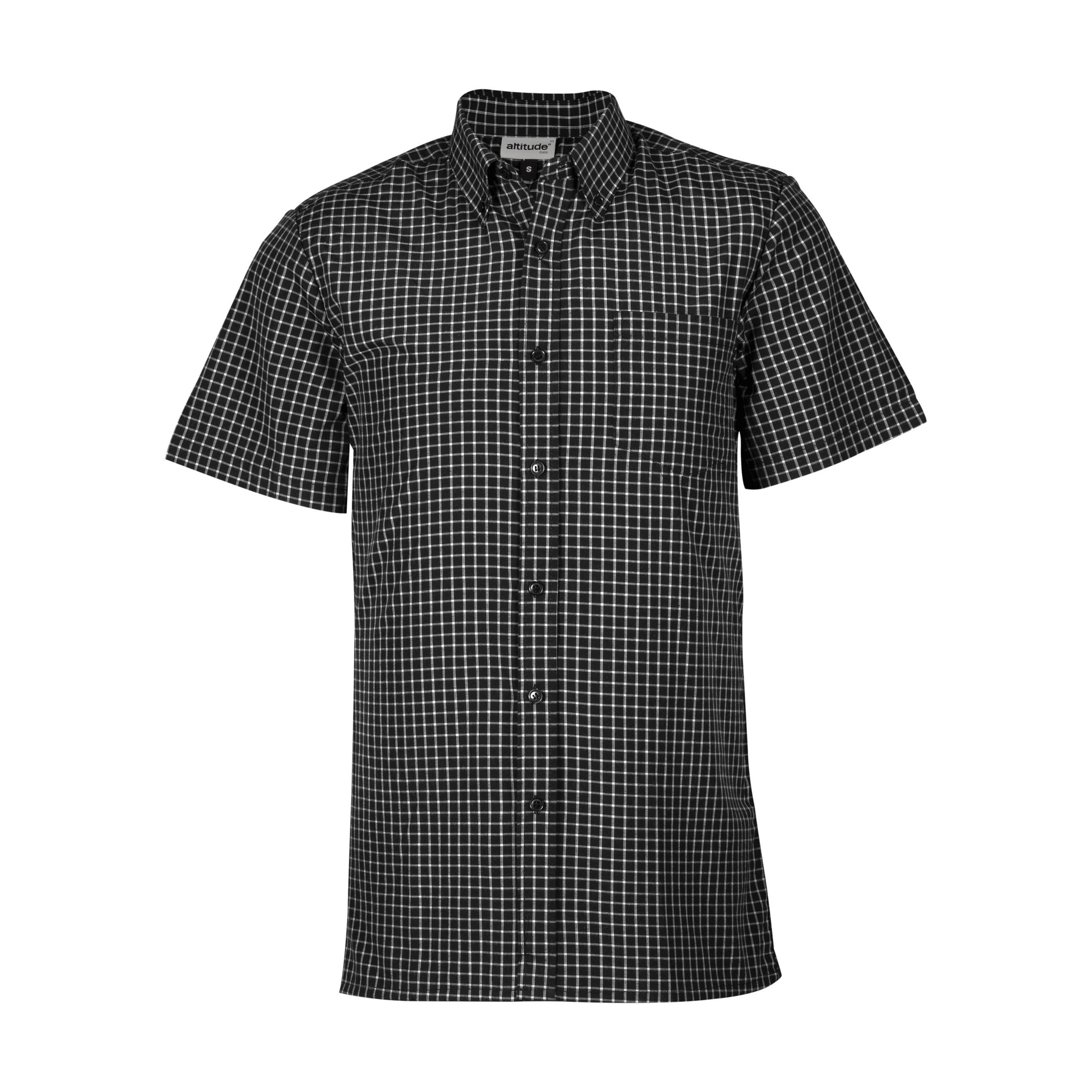 Mens Short Sleeve Prestige Shirt - Black Only
