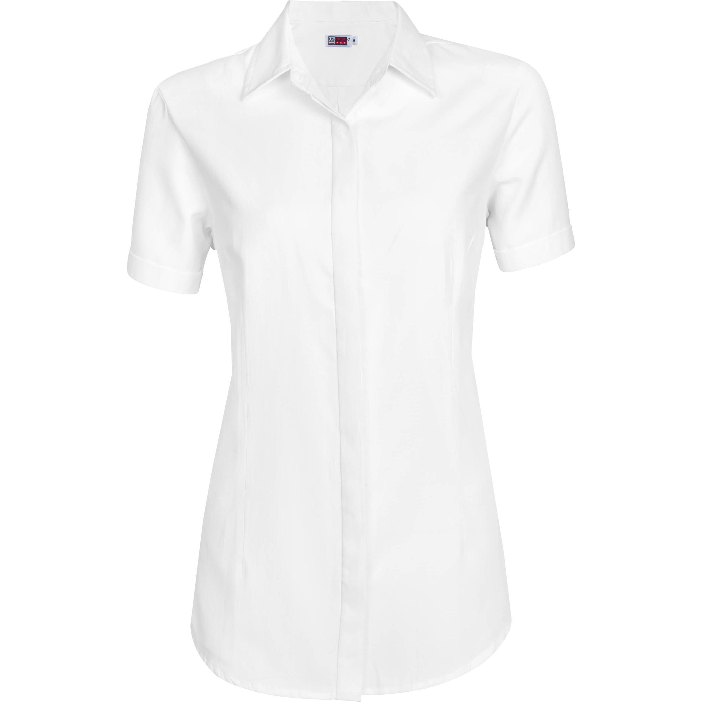 Ladies Short Sleeve Wallstreet Shirt