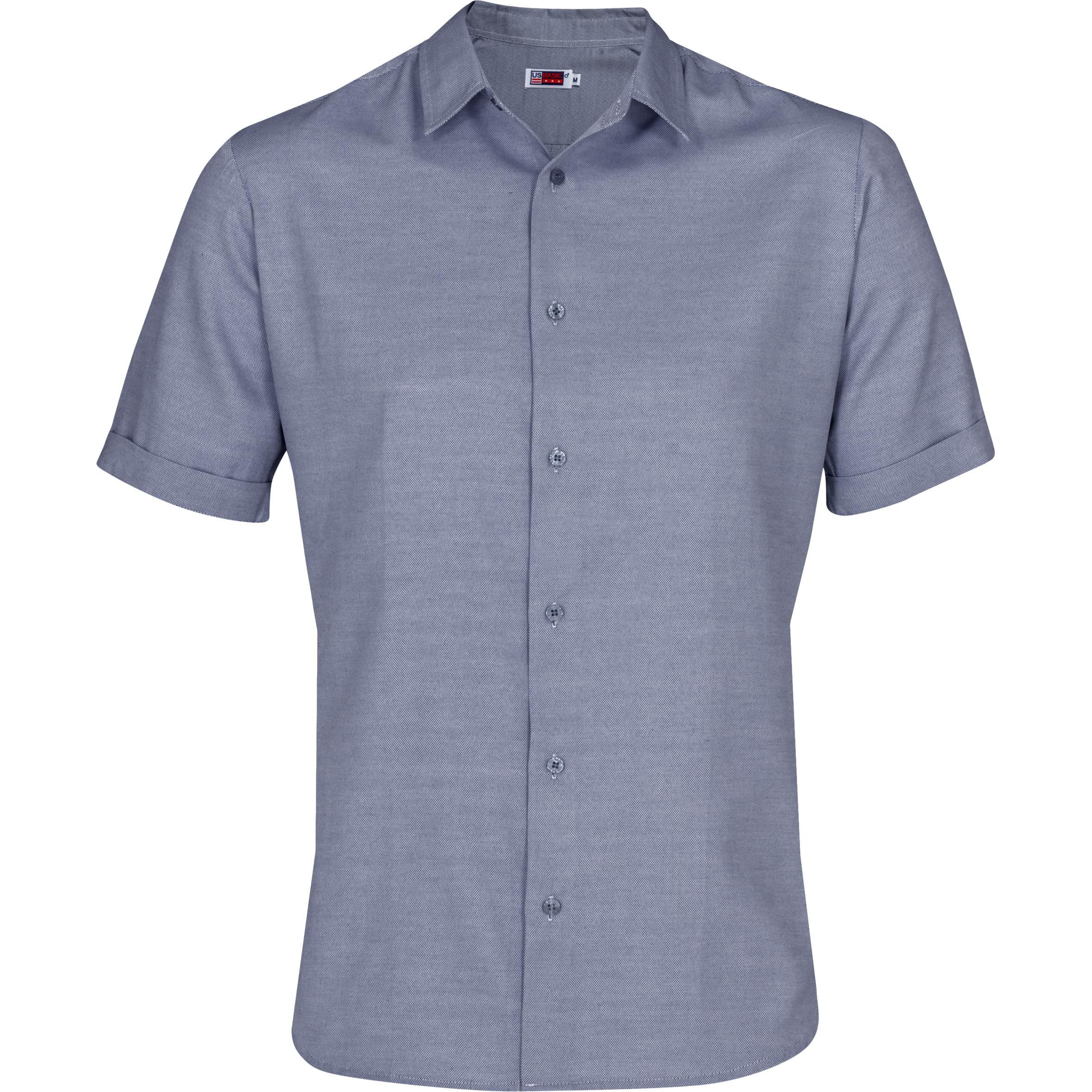 Mens Short Sleeve Wallstreet Shirt