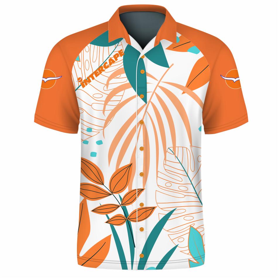 #Lifestyle   Informal Button Down Shirt Short Sleeve - 2