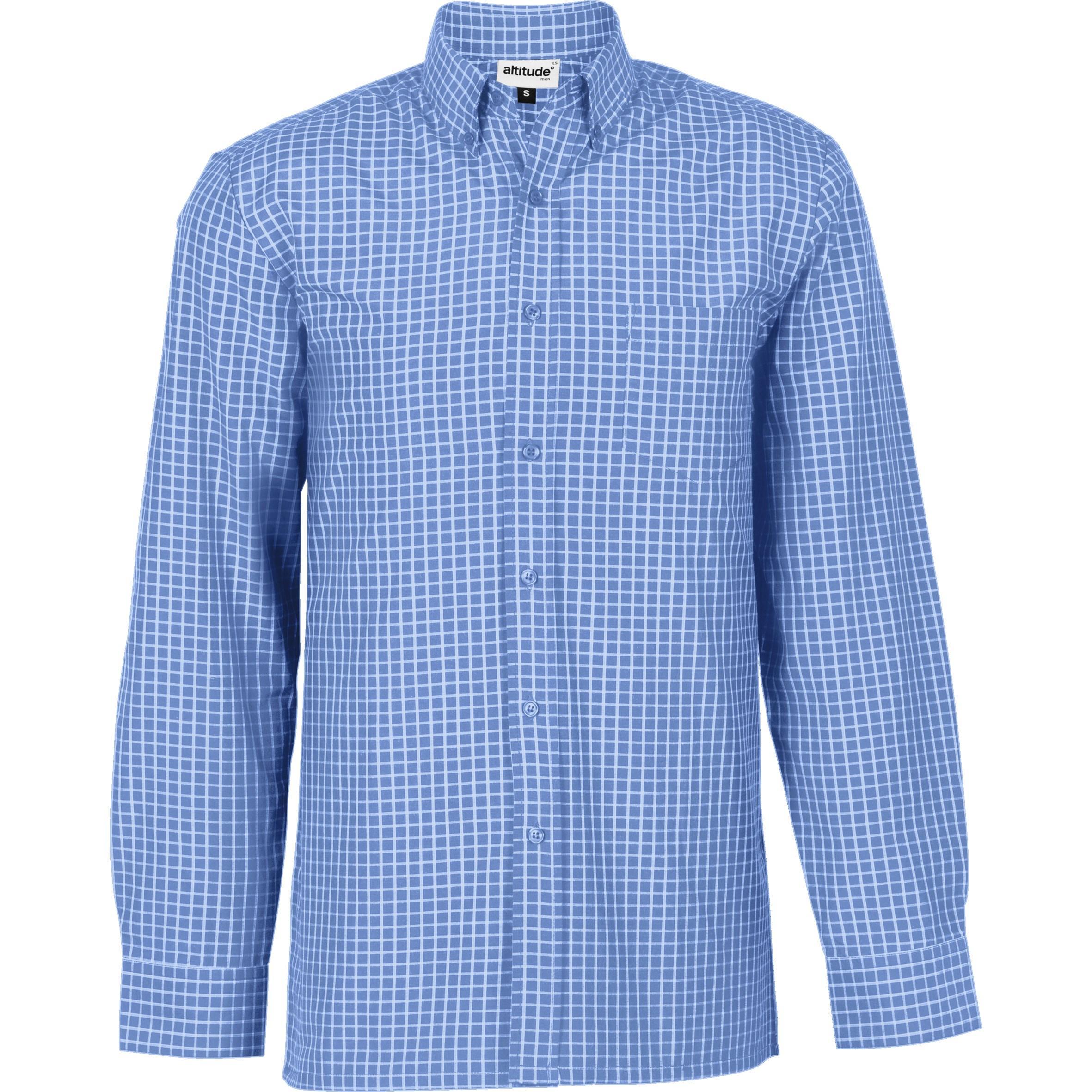 Mens Long Sleeve Prestige Shirt - Light Blue Only