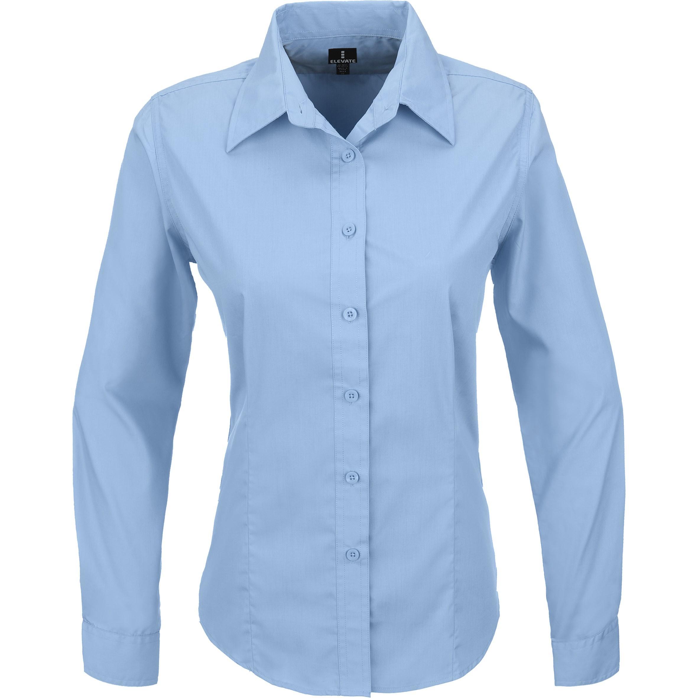 Ladies Long Sleeve Preston Shirt - Blue Only