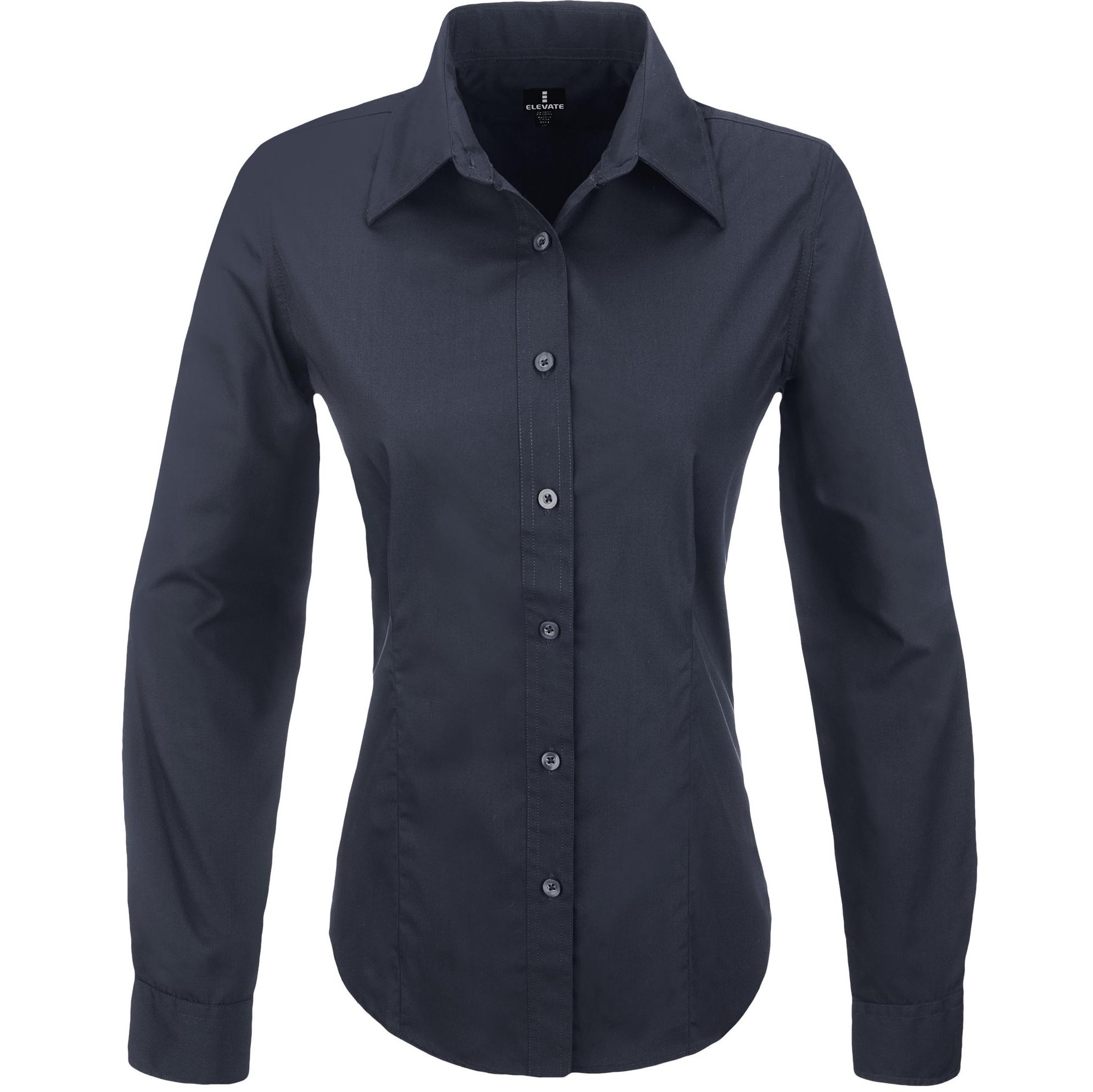 Ladies Long Sleeve Preston Shirt - Navy Only
