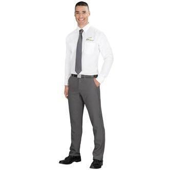 Mens Long Sleeve Wilshire Shirt -white Only