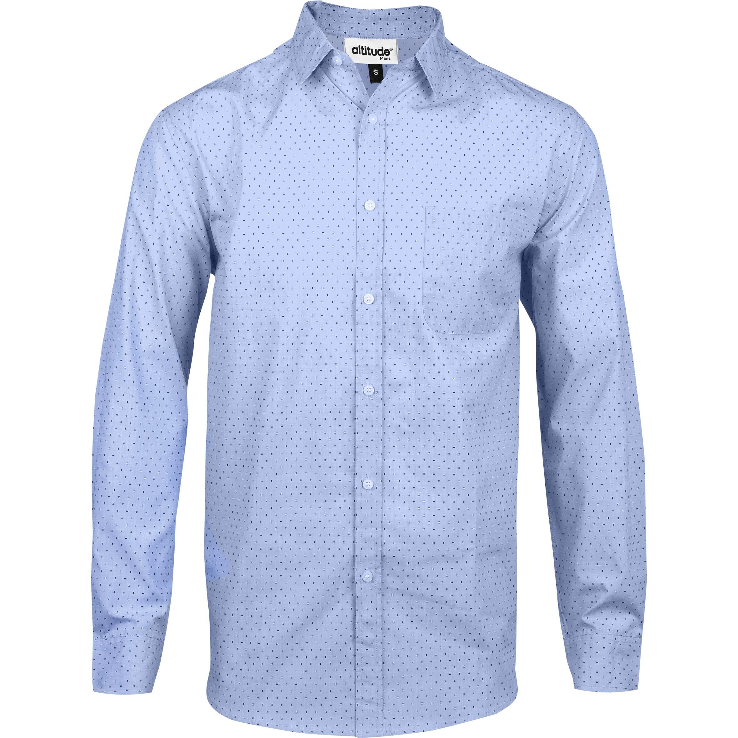 Mens Long Sleeve Duke Shirt - Light Blue Only