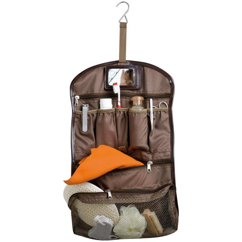 Brown Toiletry Bag