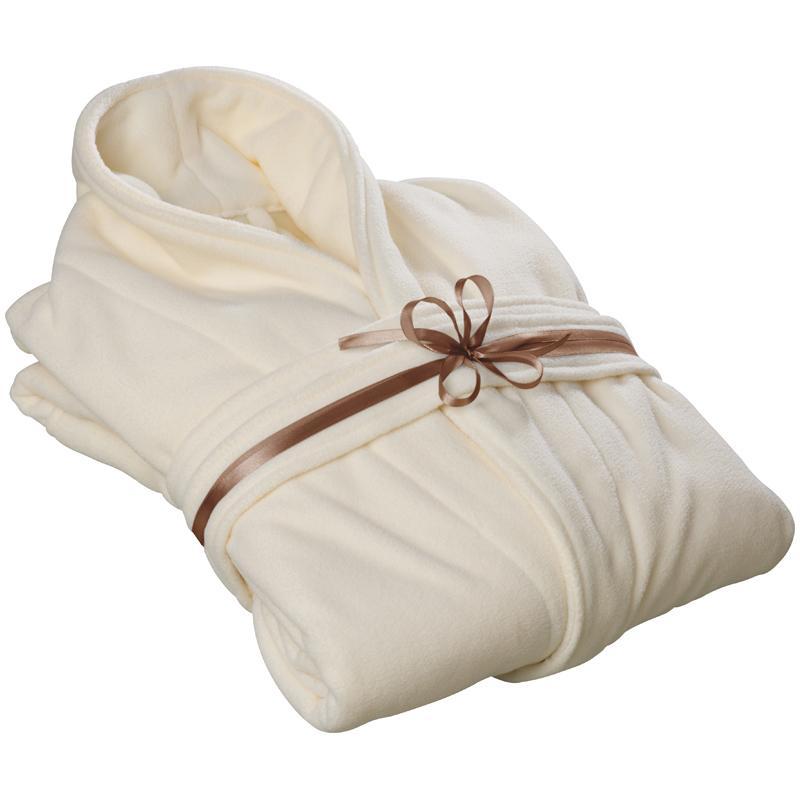 Soft Polar Fleece Dressing Gown/bathrobe.