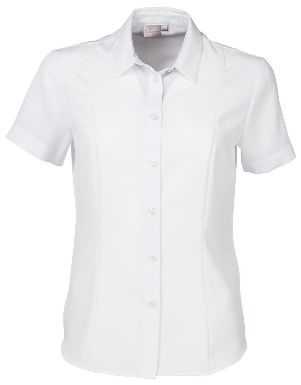 Zoe K225 S/s Blouse - White