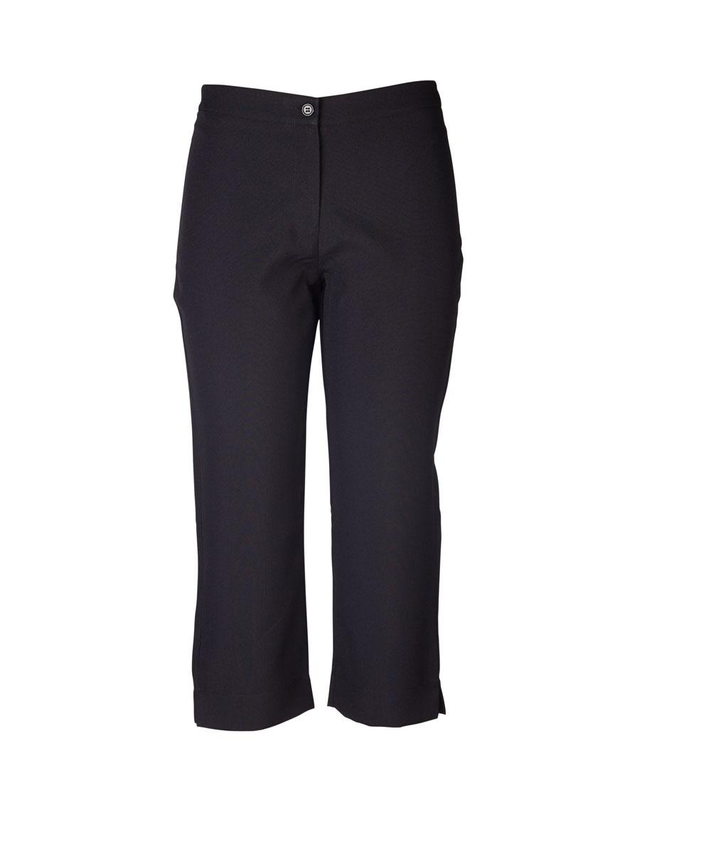 Louise Capri 3/4 Pants - Black