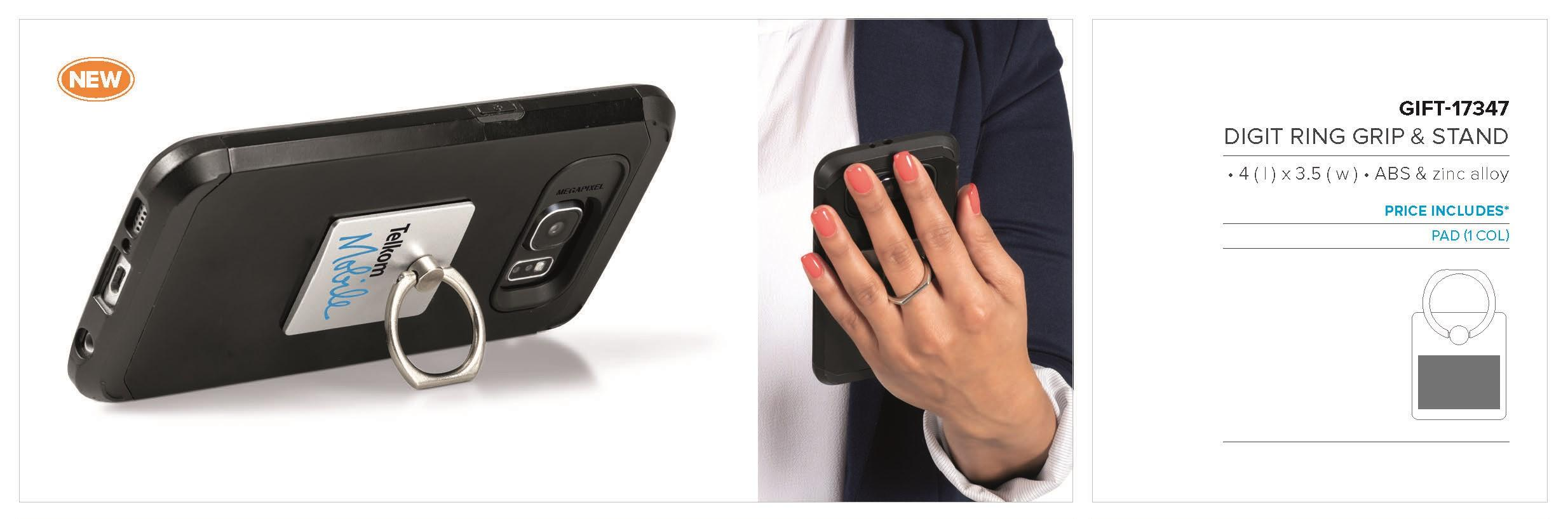 Digit Ring Grip & Stand