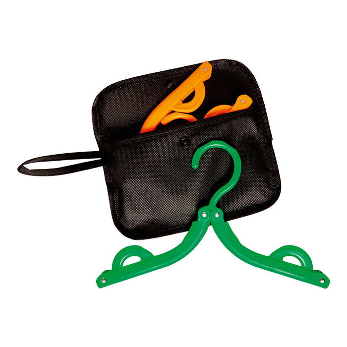 Bh7850 - Foldable Hangers In Pouch