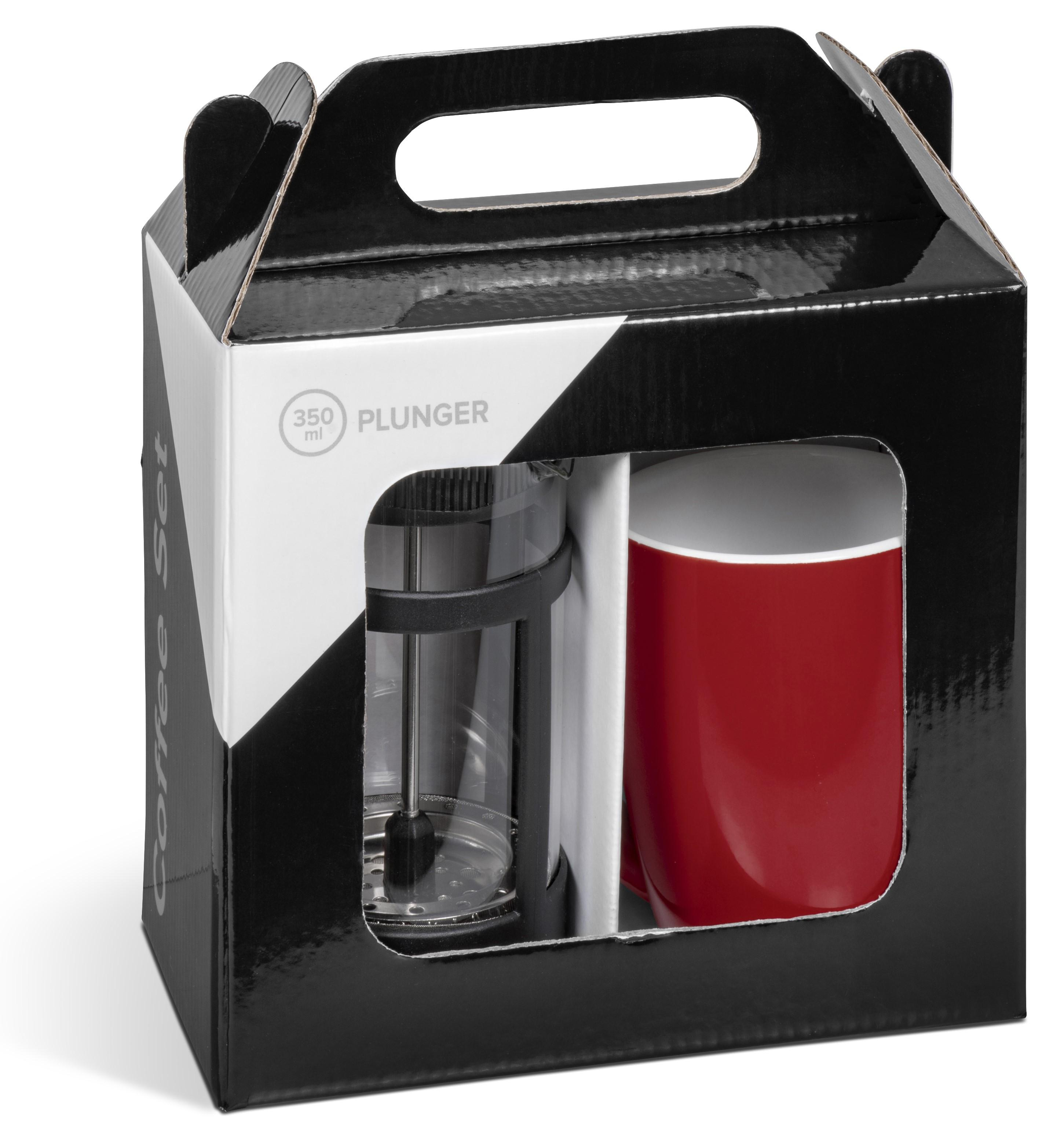 Cafe Payton Coffee Set - Red Only