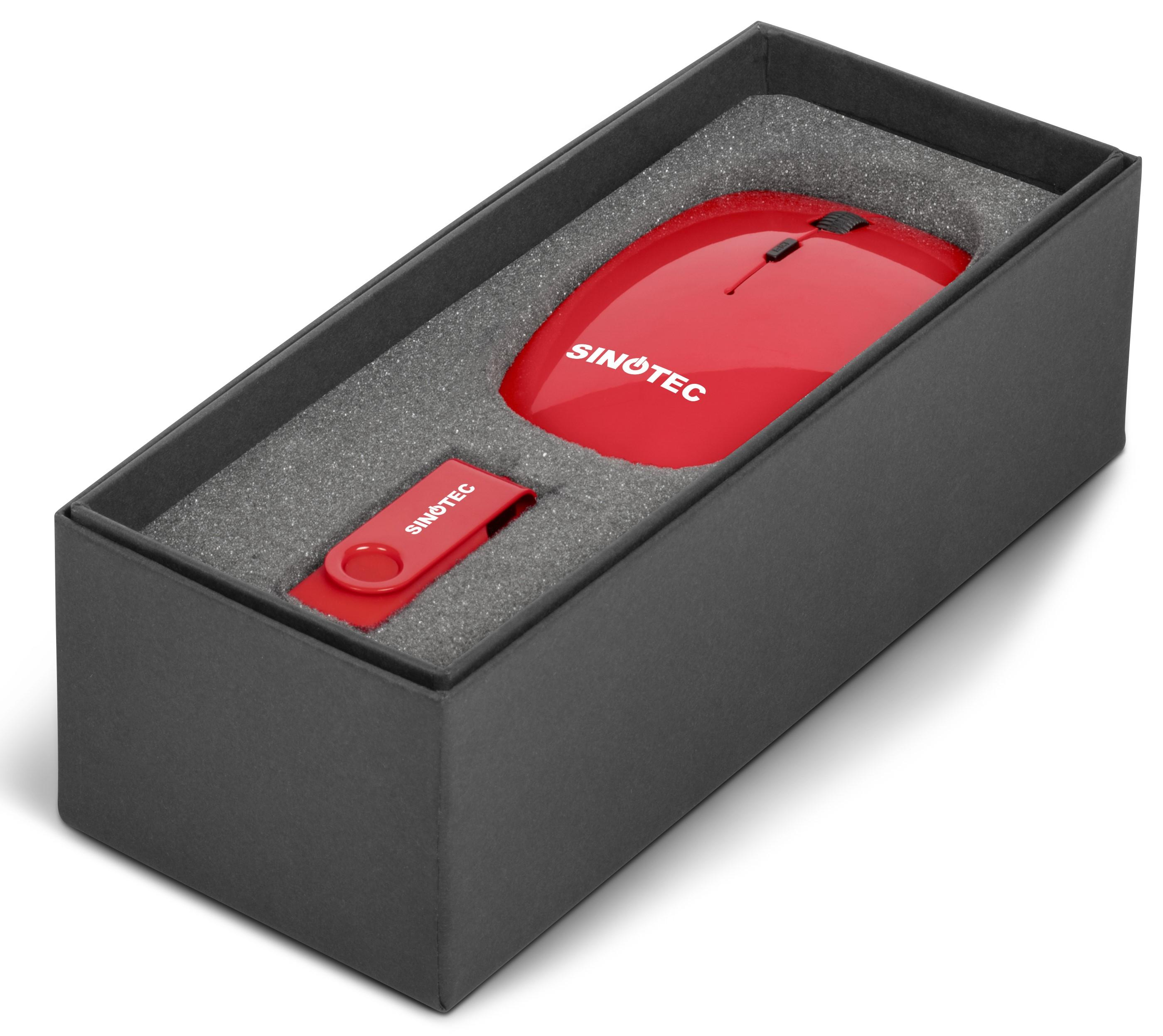 On The Desk One Gift Set - Red Only
