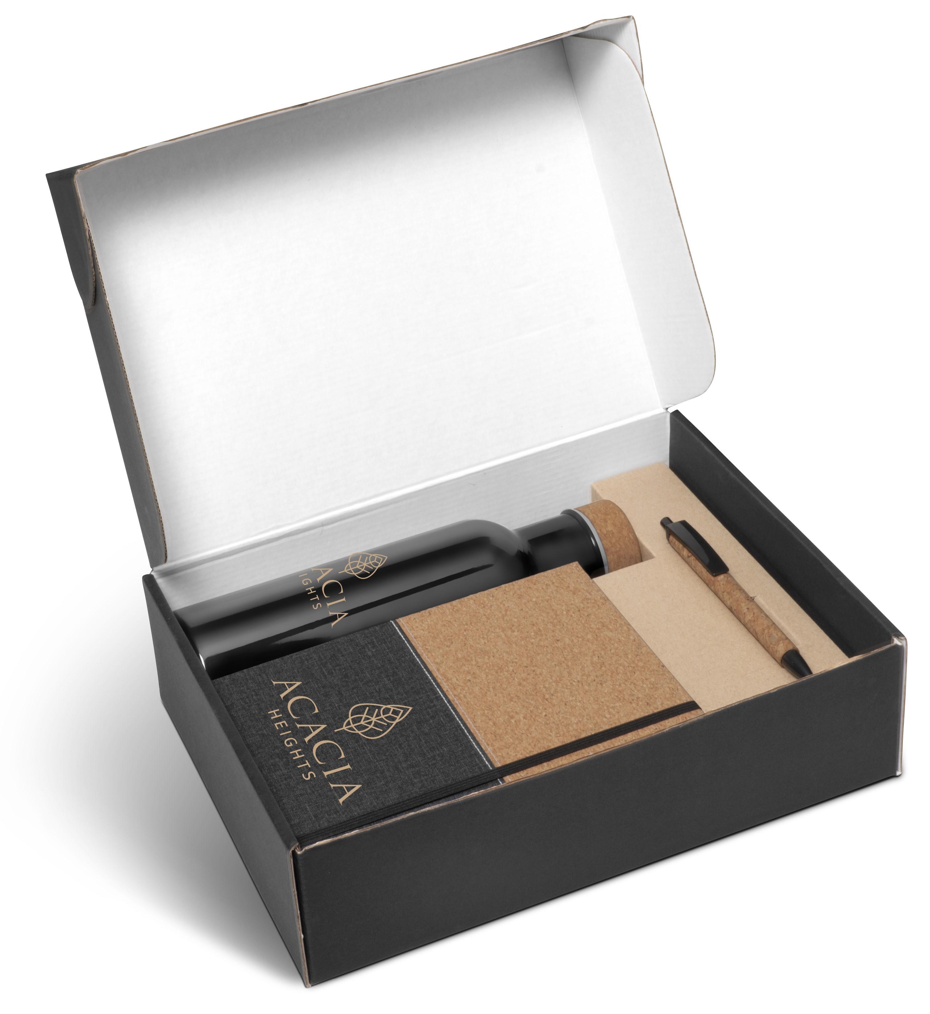 Scarlett Cork Gift Set - Black Only -750ml