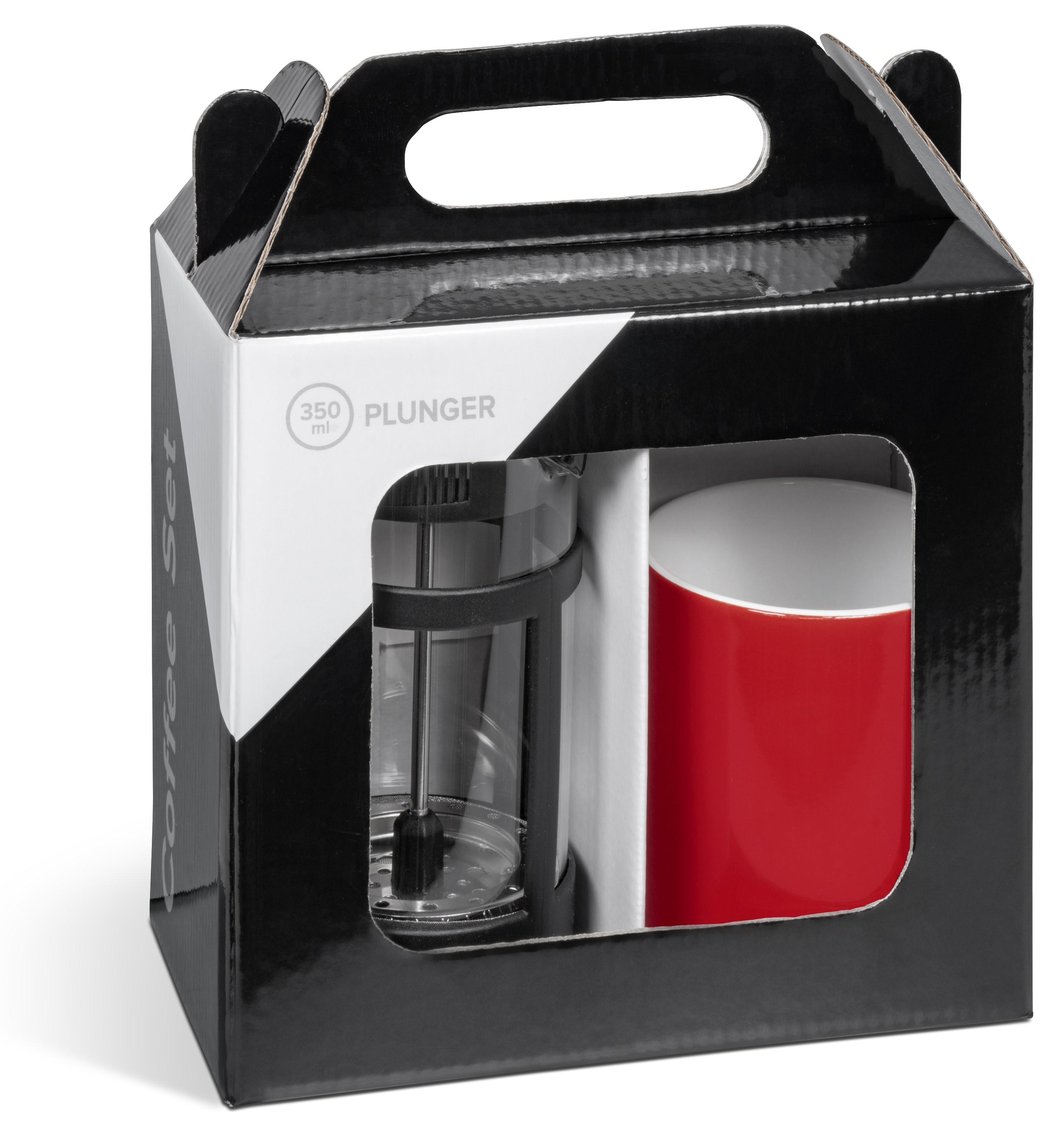 Cafe Omega Coffee Set - Red Only