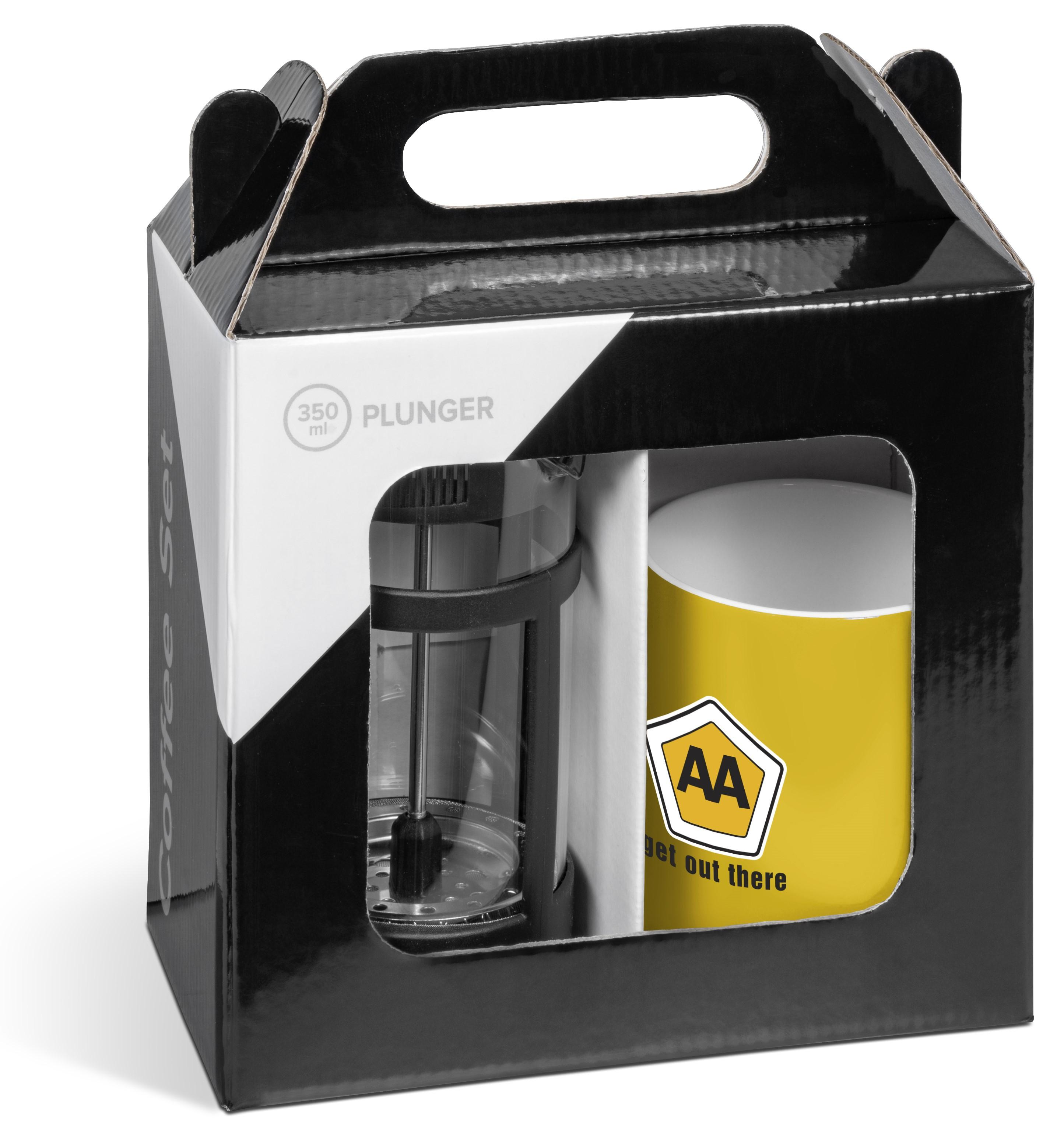 Cafe Omega Coffee Set - Yellow Only