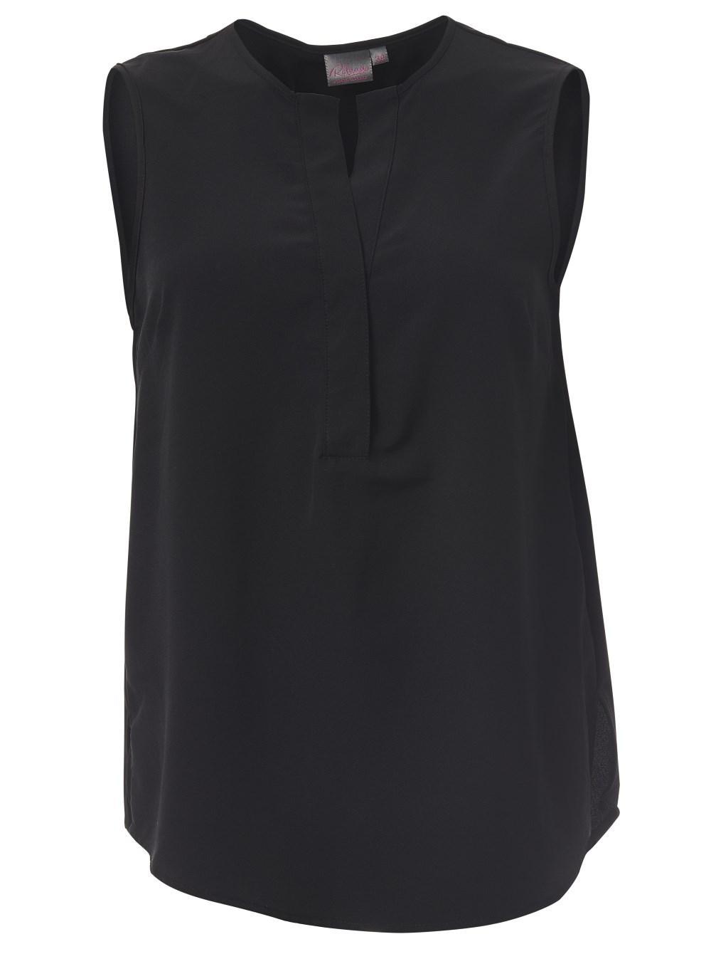 Kaylee K225 S/less Blouse - Black