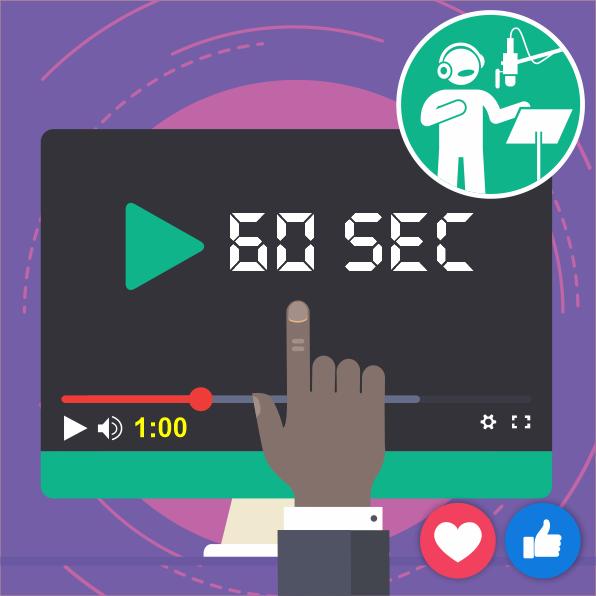 Animated Video Social Media Wvo - 60 Sec