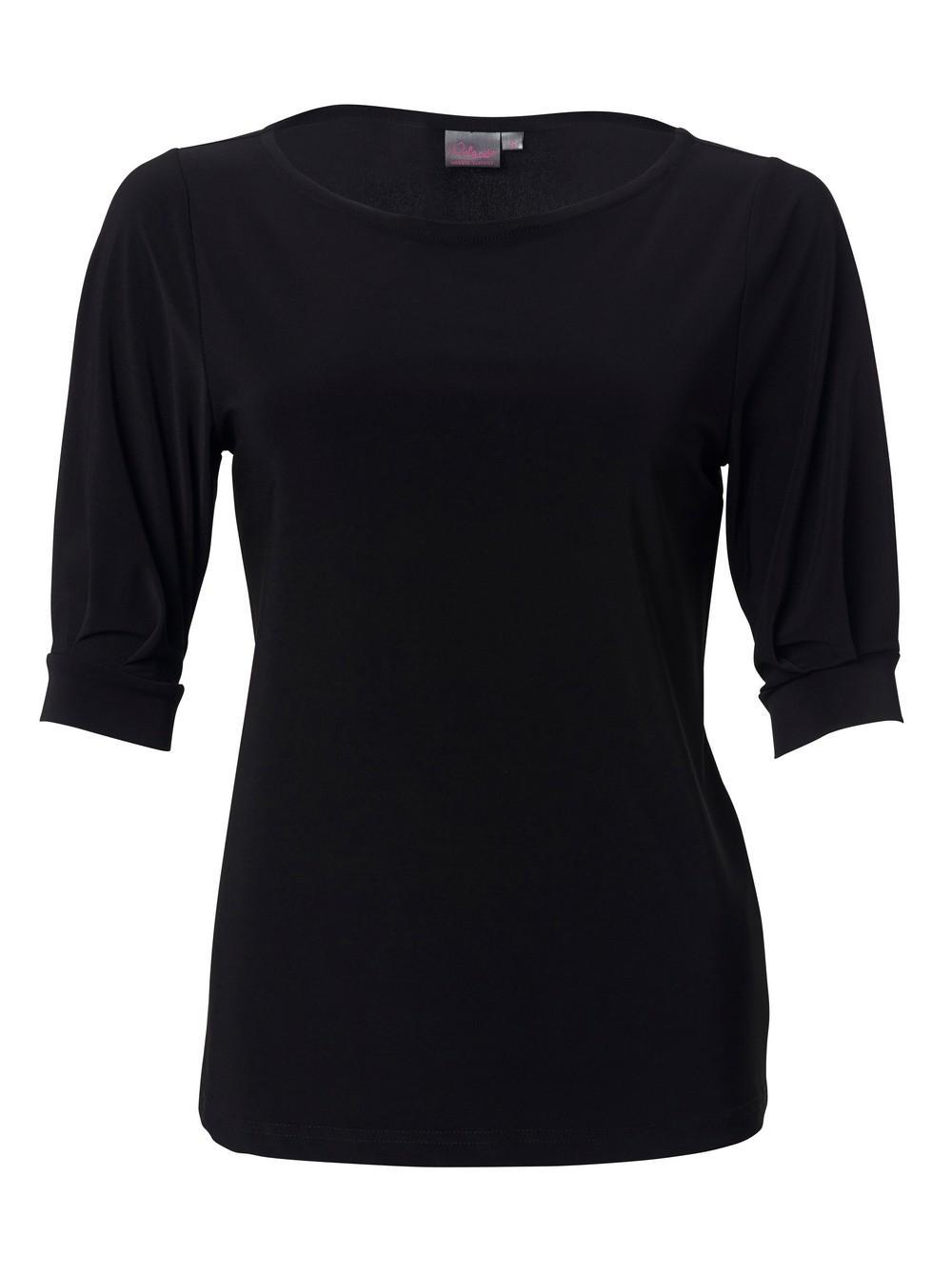 Leah K232 3/4 Blouse - Black
