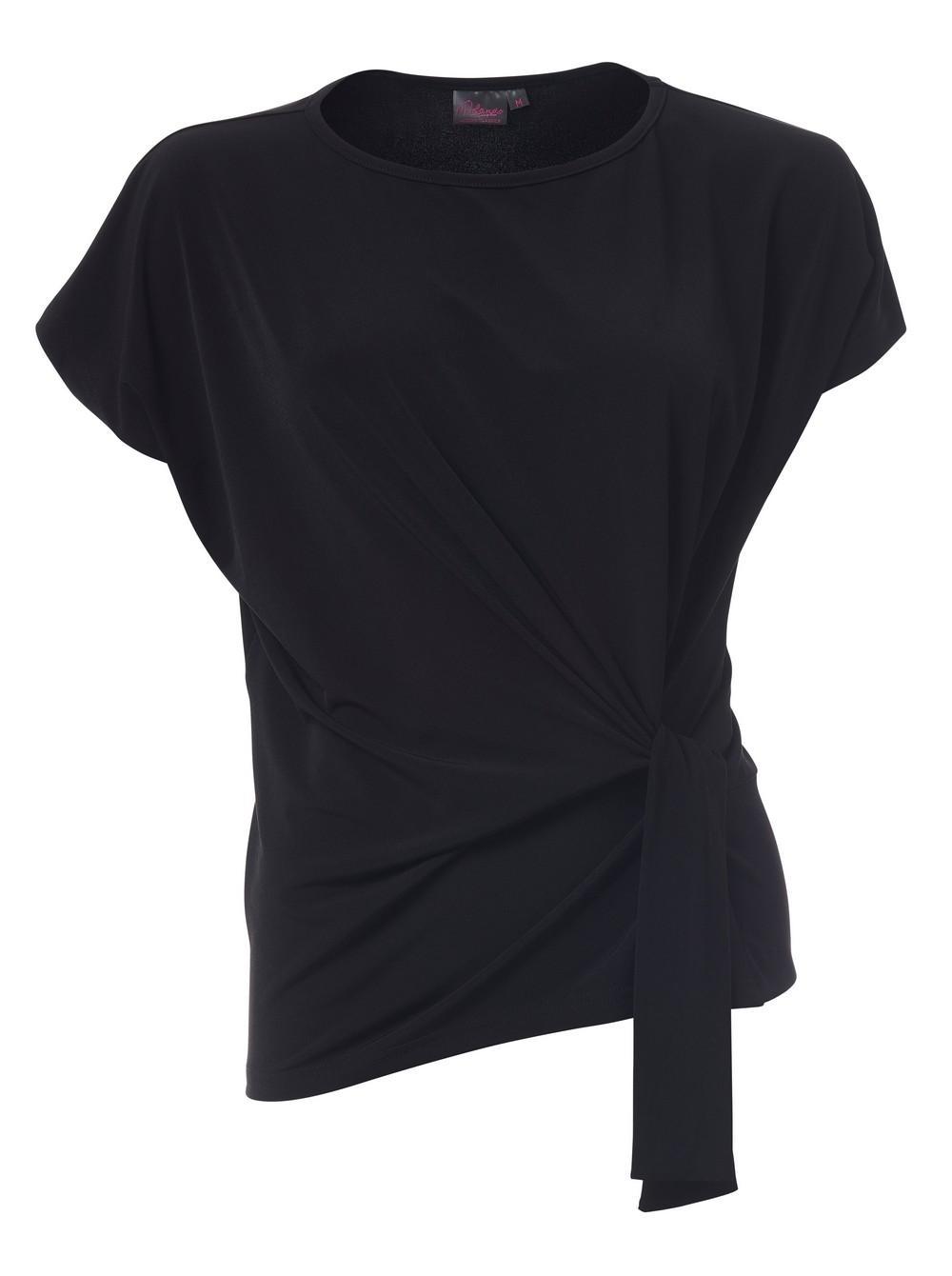Ines K232 S/s Blouse - Black