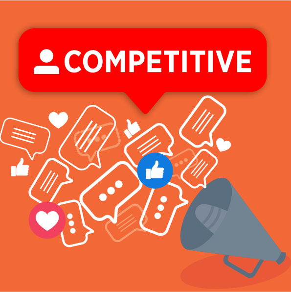 Social Media Management - Competitive
