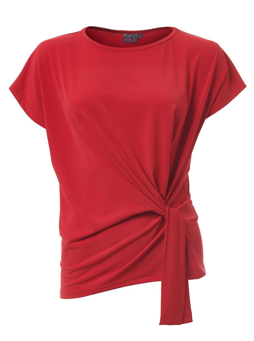 Ines K232 S/s Blouse - Red