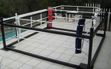Boxing Rings Freestanding Floor Level Training 4m