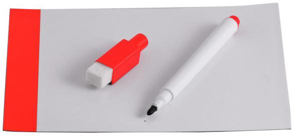 Fridge Magnetic Board & Marker