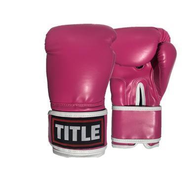 Ladies Boxing Gloves - Pink 8oz - 12oz