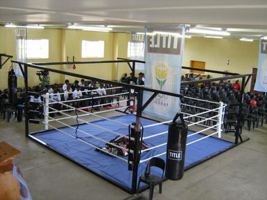 Boxing Rings Freestanding Floor Level Training 5m