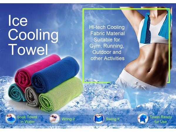 Sports & Wellness | Ice Cooling Towel - 3