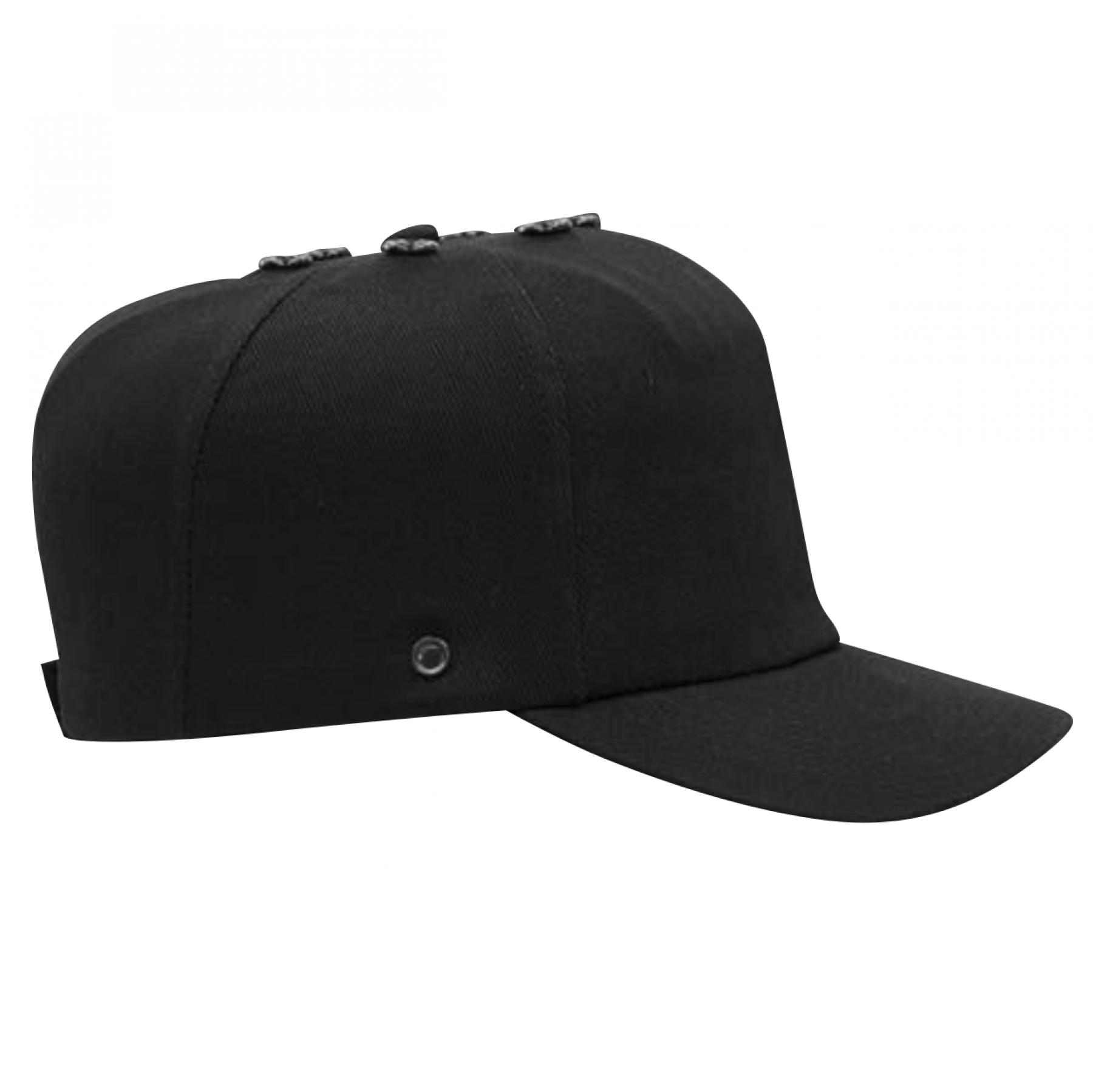 Bumpcap 100% Cotton En812, Black
