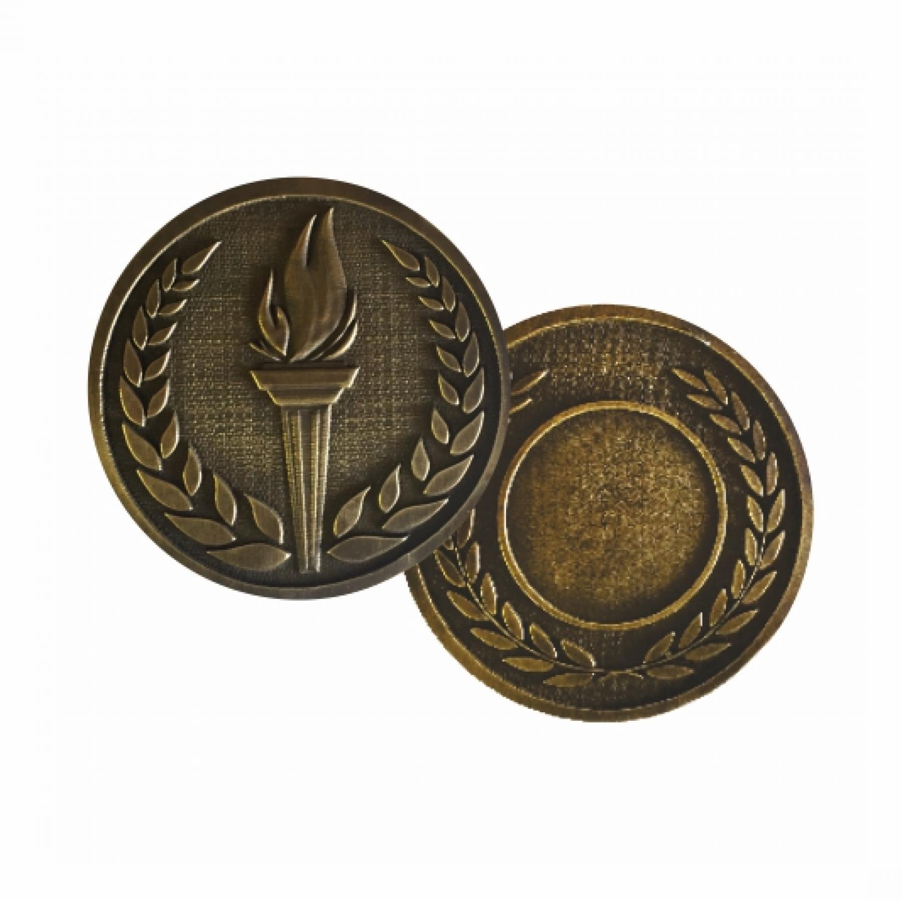 Xco Plated Medals Achievement Bronze