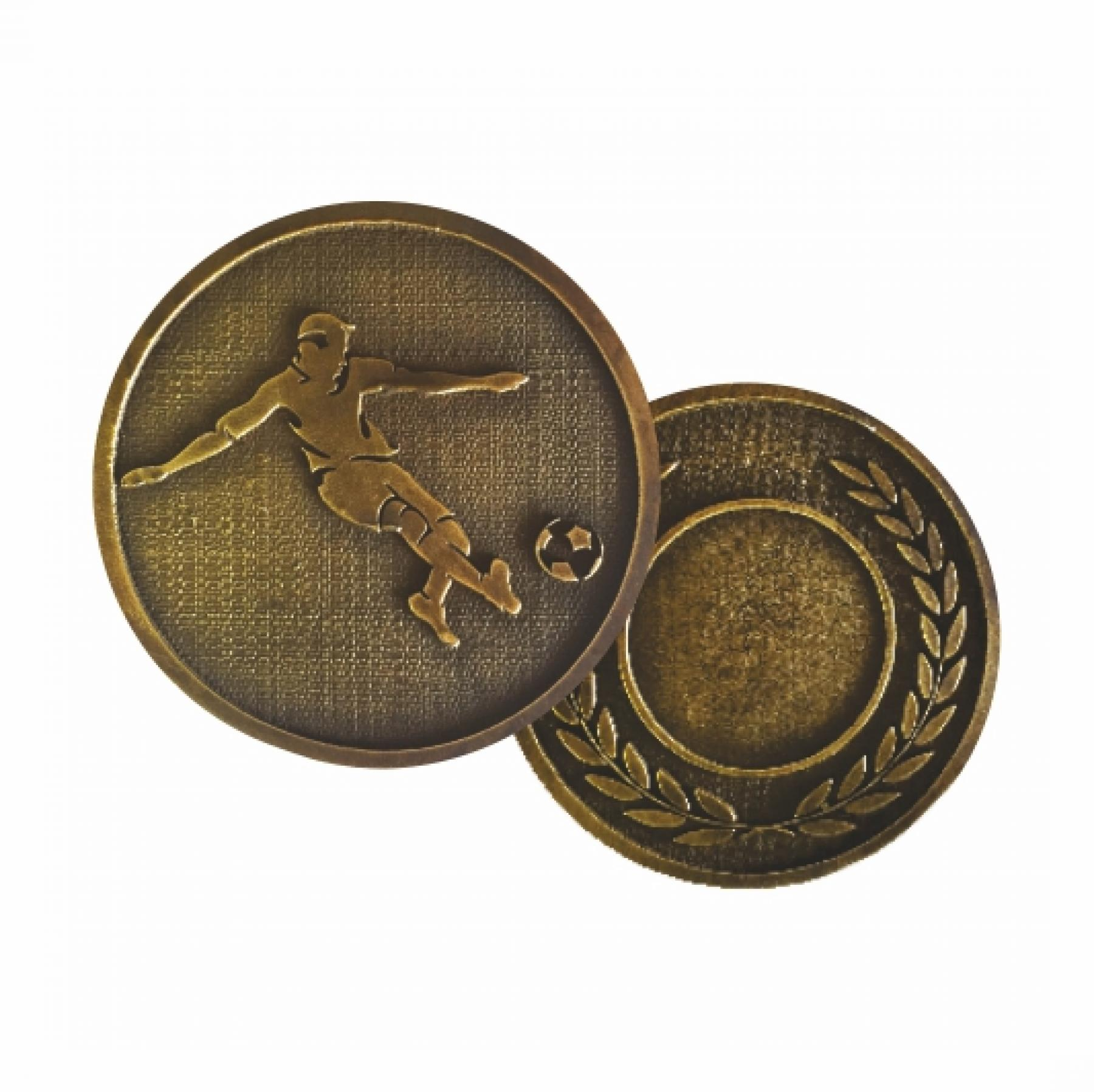 Xco Plated Medals Soccer Bronze