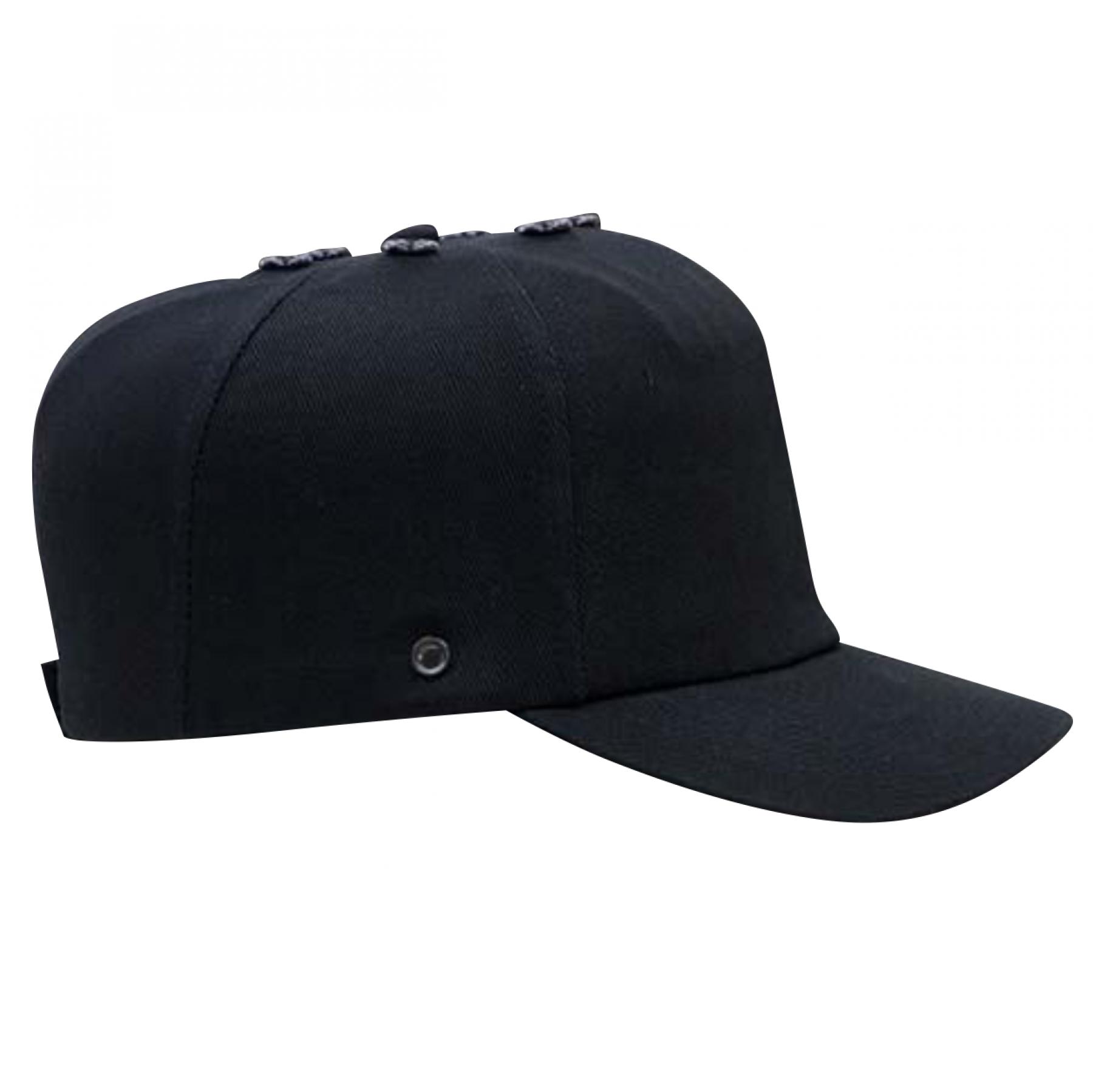 Bumpcap 100% Cotton En812, Navy Blue