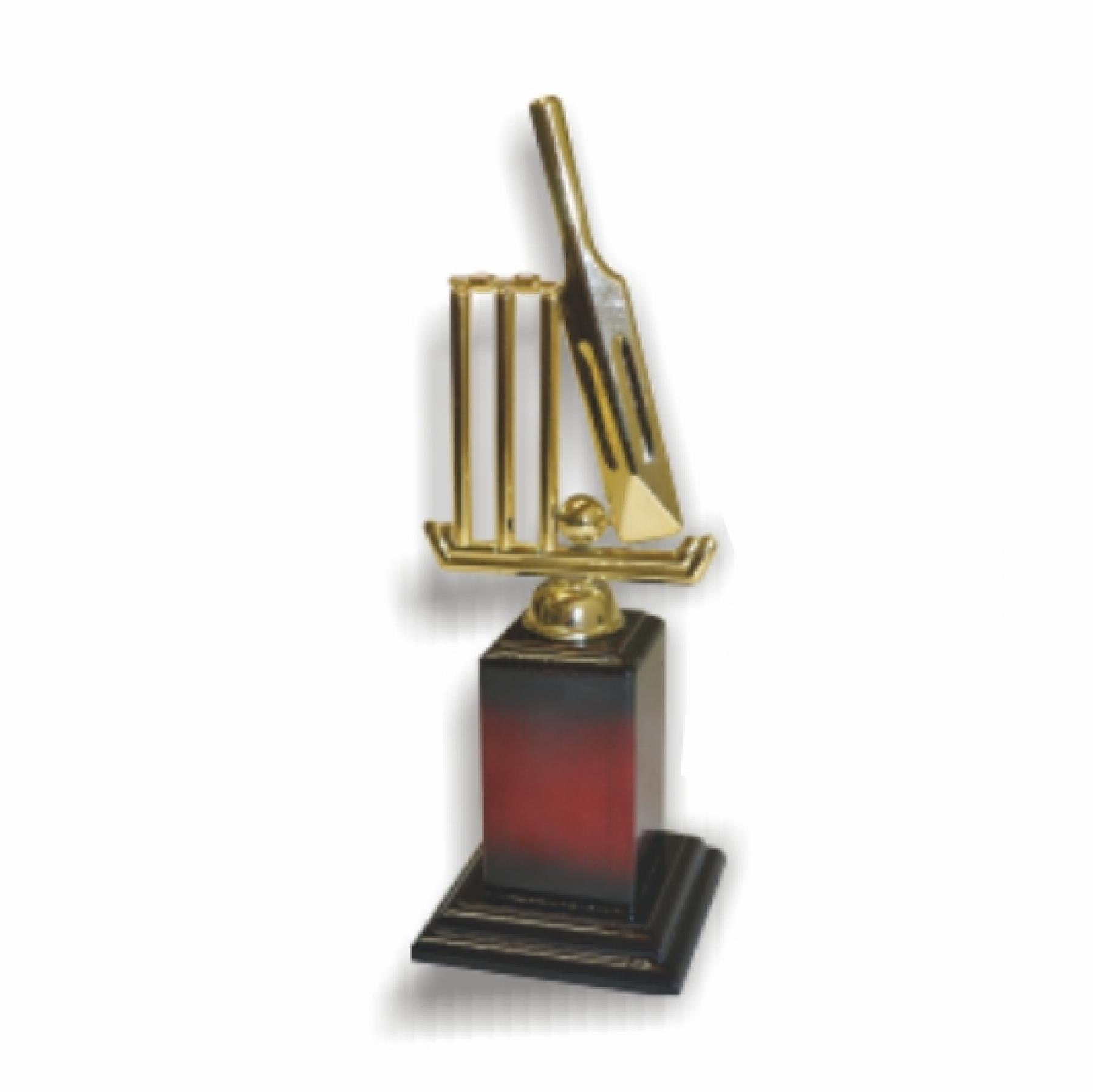 Trophies Cricket Wicket Small