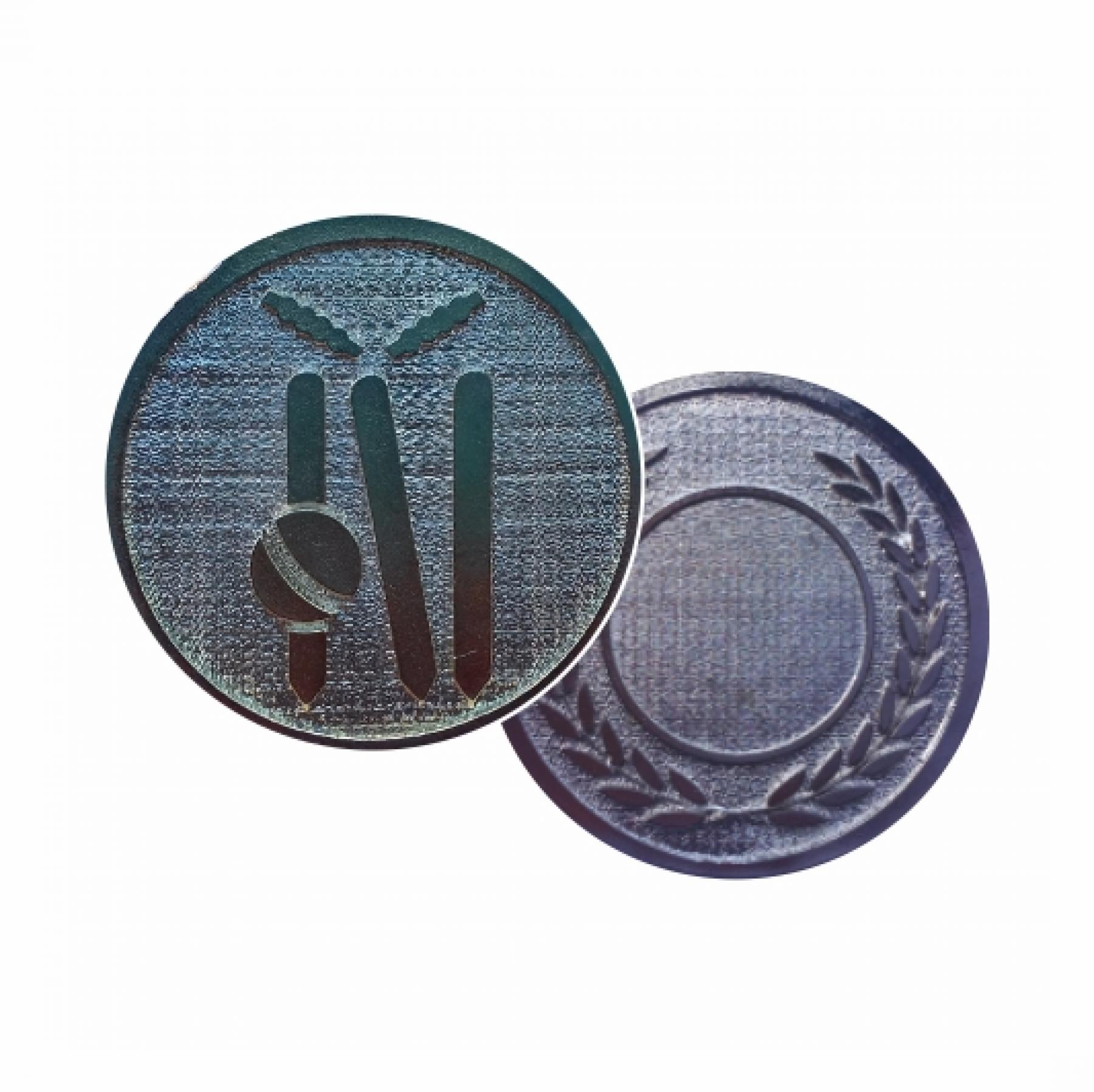 Xco Plated Medals Cricket Silver
