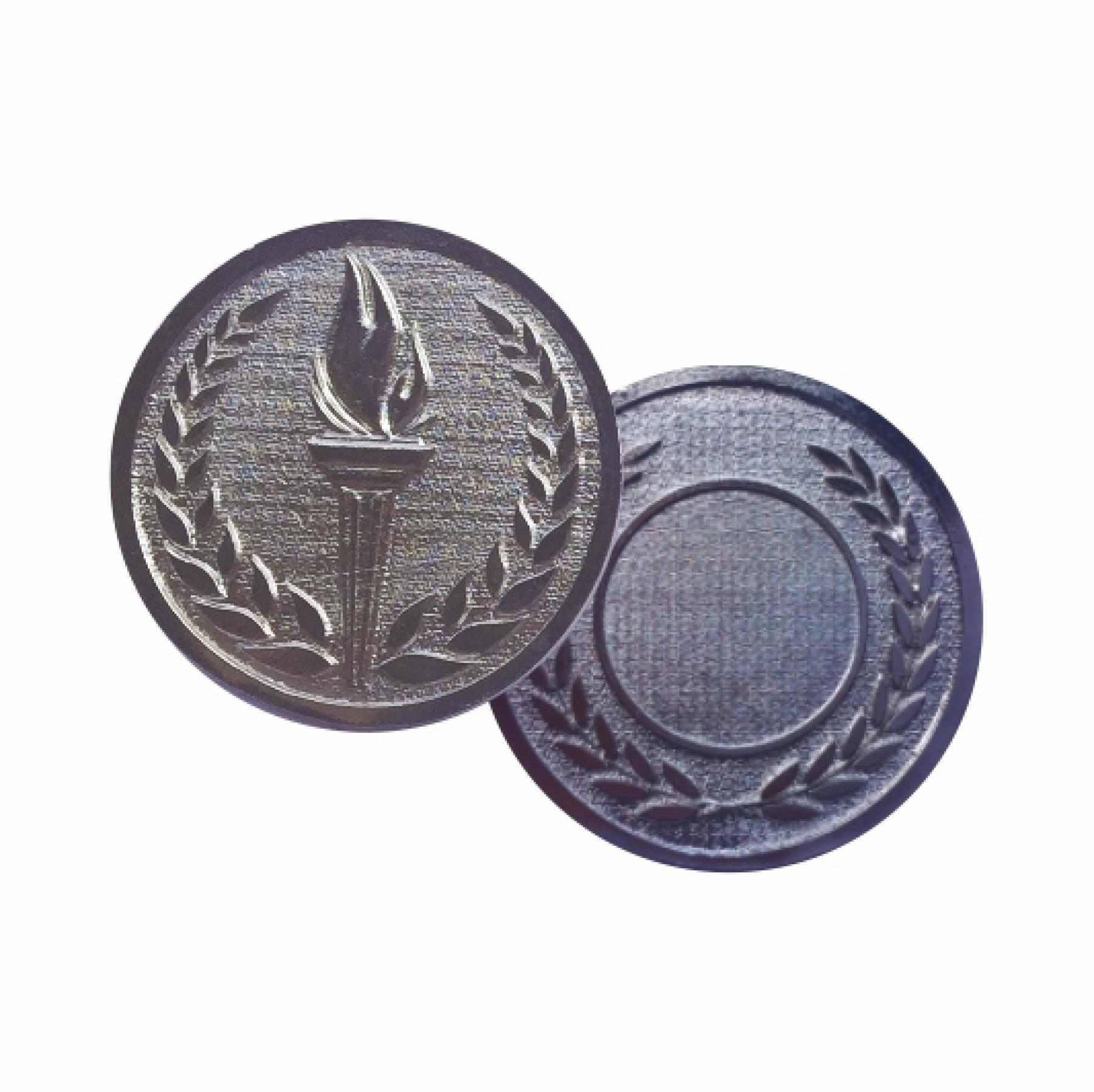 Xco Plated Medals Achievement Silver