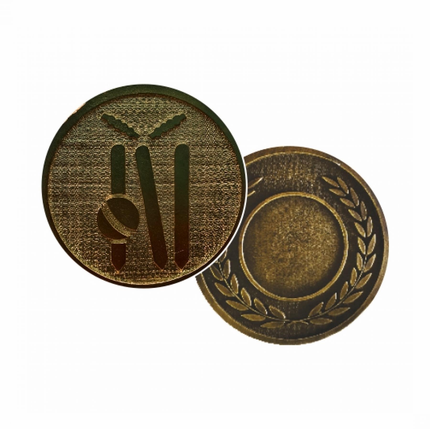 Xco Plated Medals Cricket Bronze