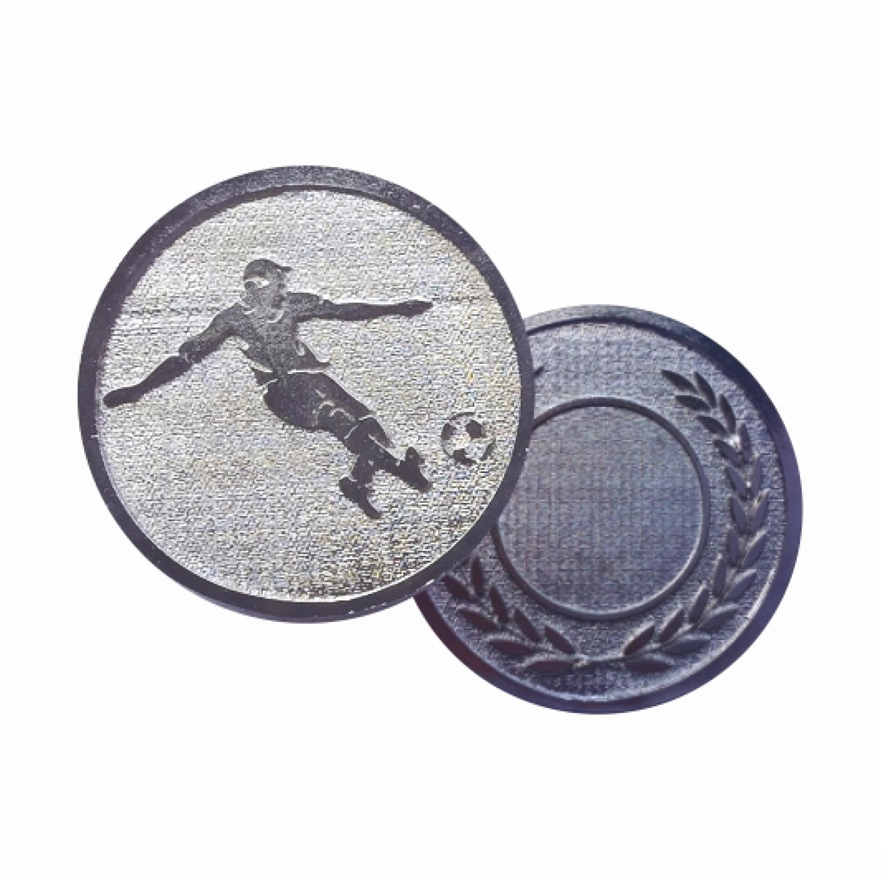 Xco Plated Medals Soccer Silver