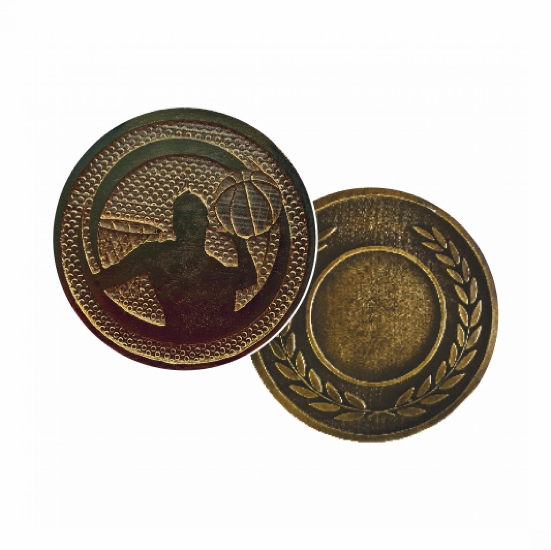 Xco Plated Medals Basketball Bronze
