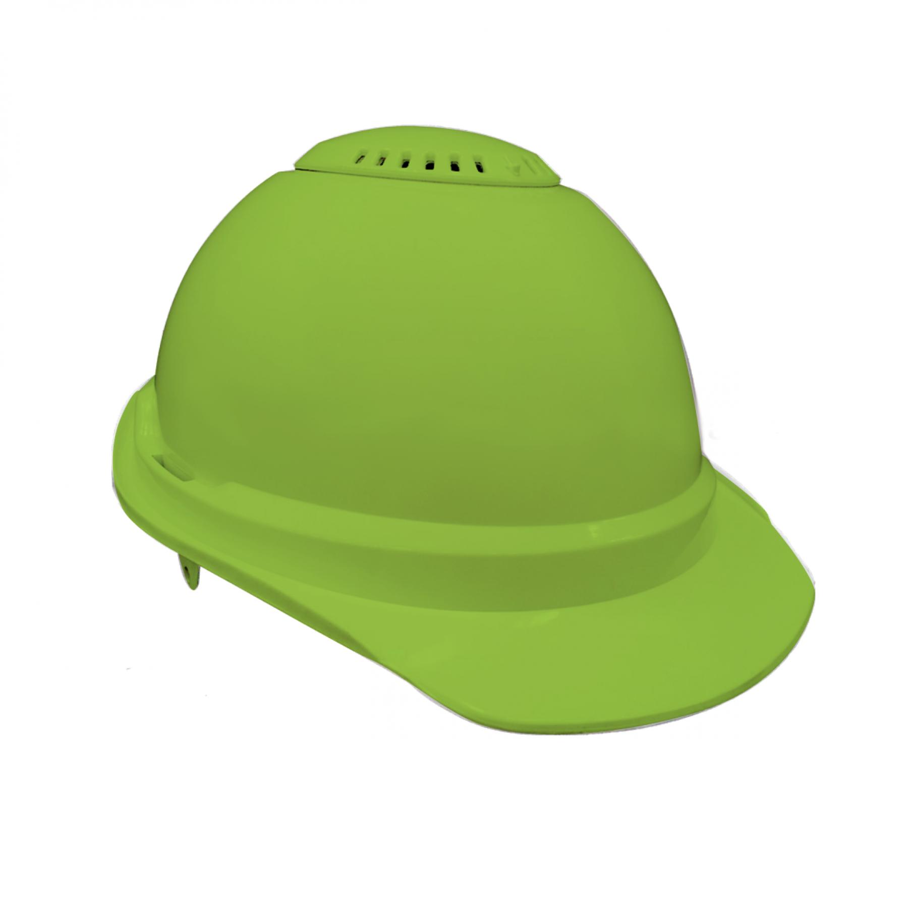 Nikki Hard Hat - Dayglo Lime