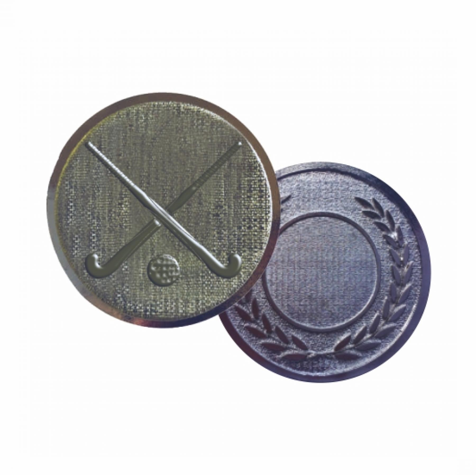 Xco Plated Medals Hockey Silver