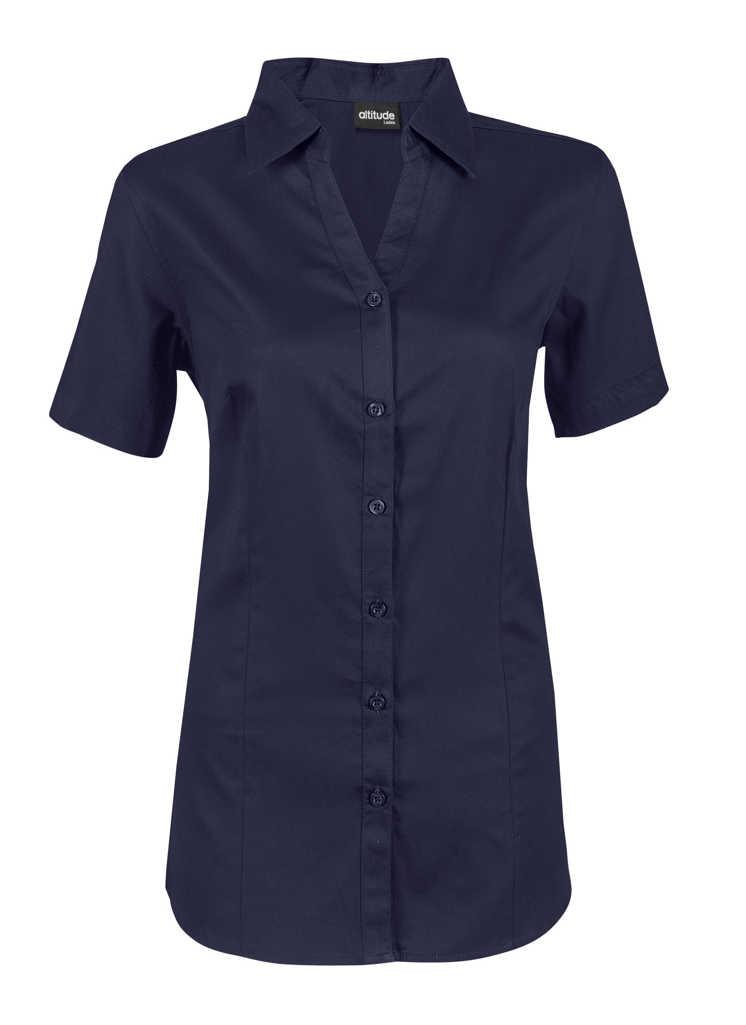 Ladies Short Sleeve Seattle Twill Shirt