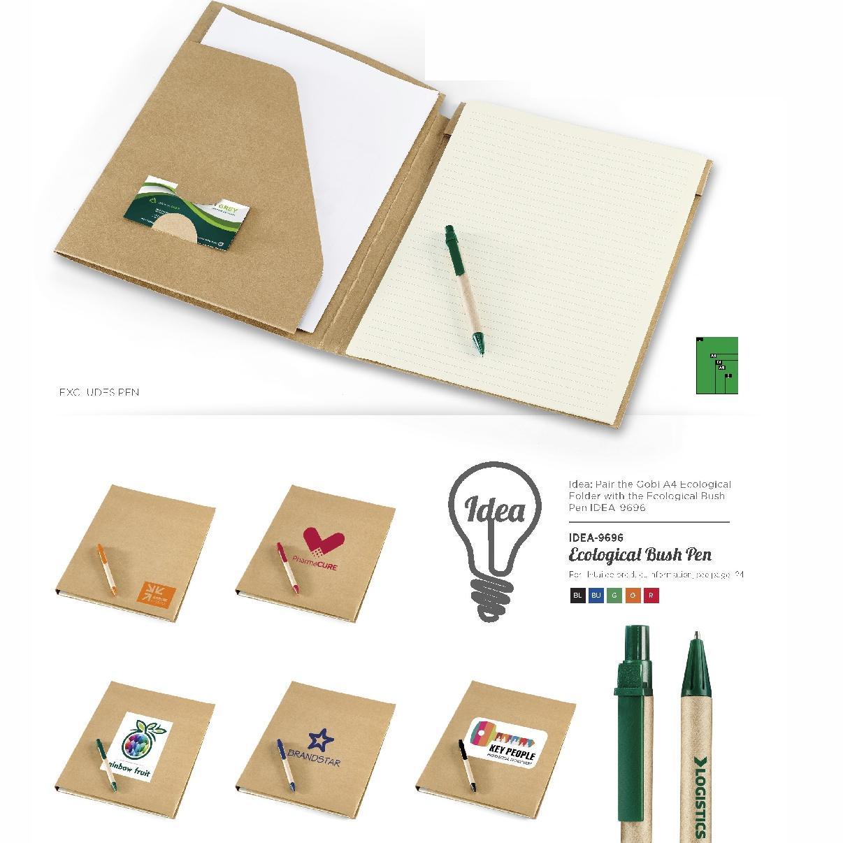 Eco-logical  A4 Folder