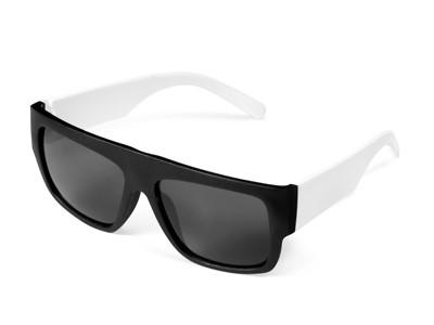 Frenzy Sunglasses - Solid White Only