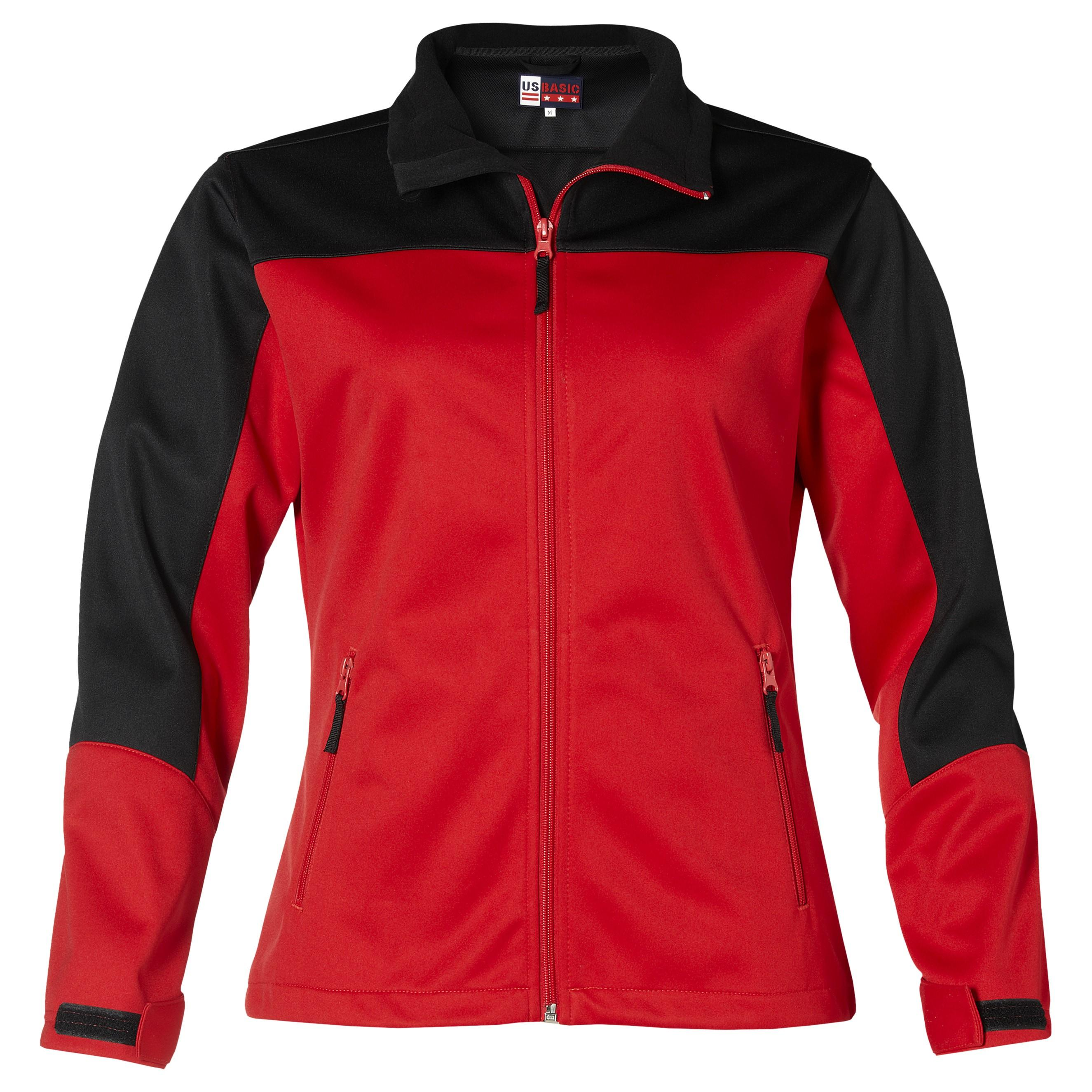 Ladies Attica Softshell Jacket - Red Only
