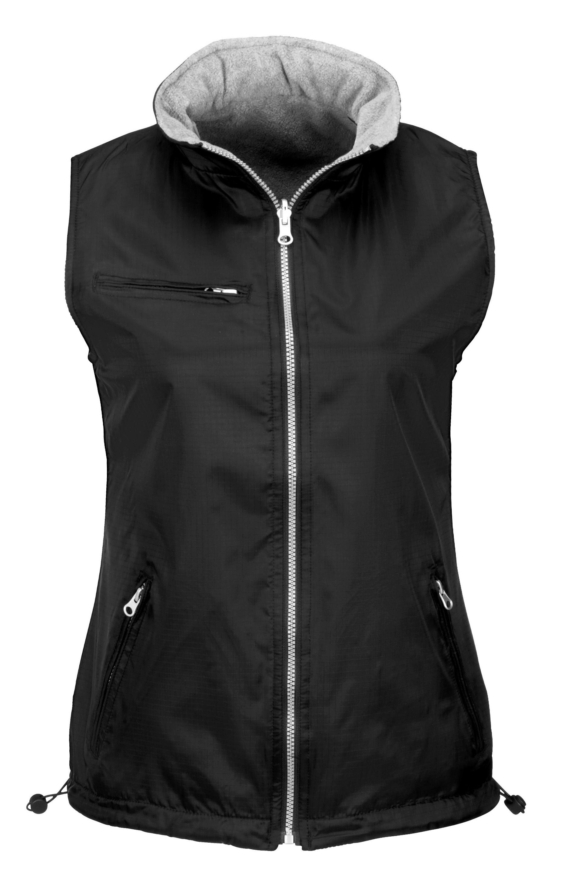 Ladies Reversible Fusion Bodywarmer - Black Only