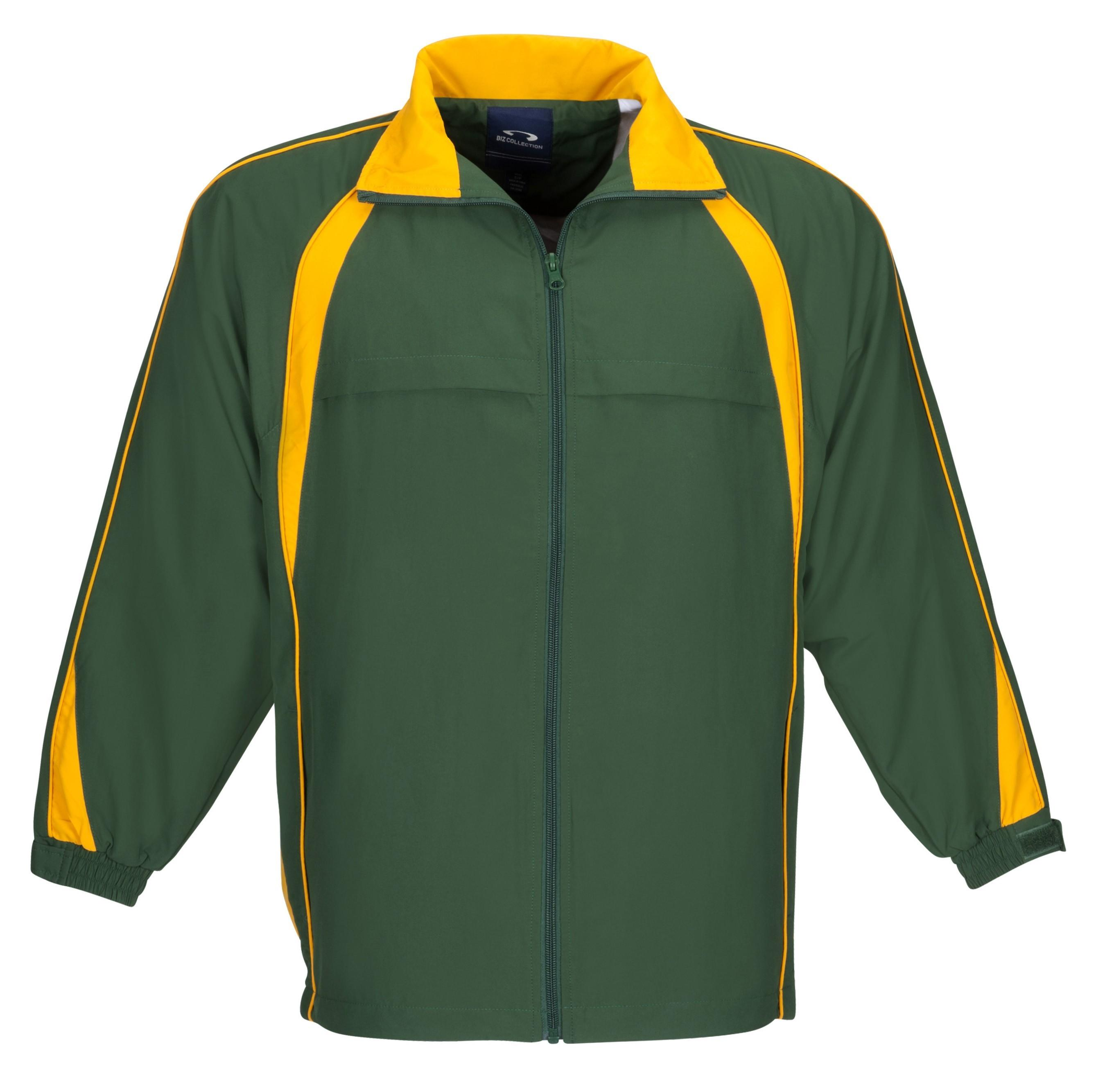 Splice Unisex Track Top - Green Gold Only