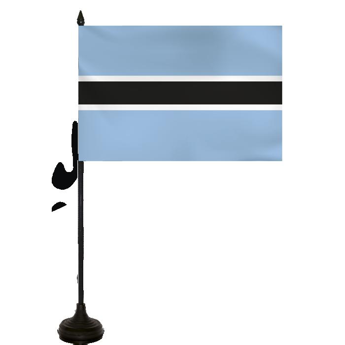 Desk Flag - Botswana Flag
